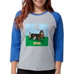 The Ferocious Viking Wiener Do Womens Baseball Tee