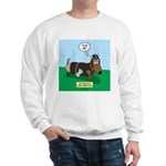 The Ferocious Viking Wiener Dog Sweatshirt