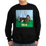 The Ferocious Viking Wiener Dog Sweatshirt (dark)