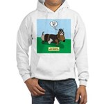 The Ferocious Viking Wiener Dog Hooded Sweatshirt