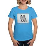 Alaskan Klee Kai Women's Dark T-Shirt