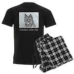 Alaskan Klee Kai Men's Dark Pajamas