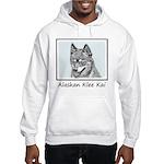 Alaskan Klee Kai Hooded Sweatshirt