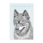 Alaskan Klee Kai Mini Poster Print