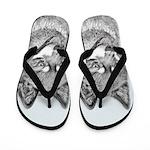Alaskan Klee Kai Flip Flops