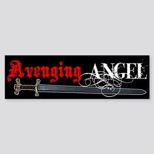Avenging Angel Bumper Sticker