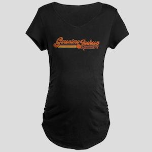 Geronimo Jackson Maternity Dark T-Shirt