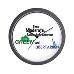 I'm A Moderate Wall Clock