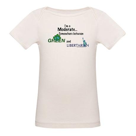 I'm A Moderate Organic Baby T-Shirt