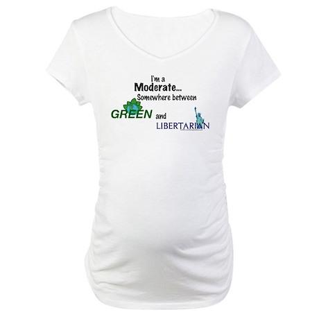 I'm A Moderate Maternity T-Shirt
