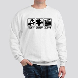 Lights, Camera, Action Sweatshirt