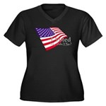 I Voted Why Didn't You Women's Plus Size V-Neck Da