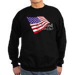 I Voted Why Didn't You Sweatshirt (dark)