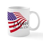 I Voted Why Didn't You Mug