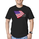 I Voted Why Didn't You Men's Fitted T-Shirt (dark)