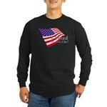 I Voted Why Didn't You Long Sleeve Dark T-Shirt
