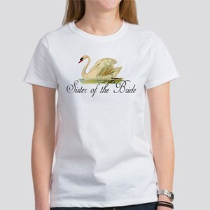 "SWAN ""Sister of the bride"" Women's T-Shirt"