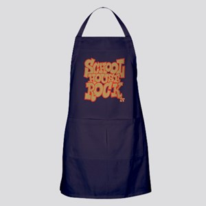 Schoolhouse Rock TV Apron (dark)