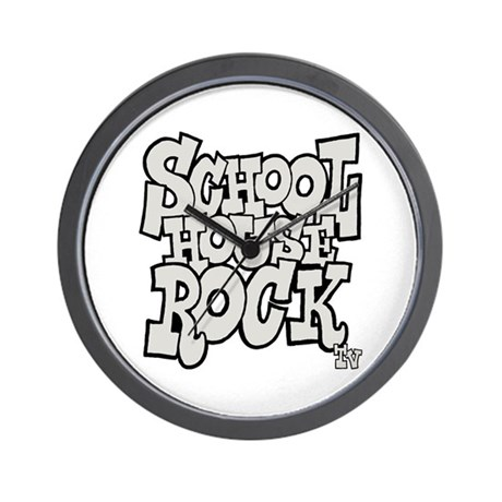 Schoolhouse Rock TV Wall Clock