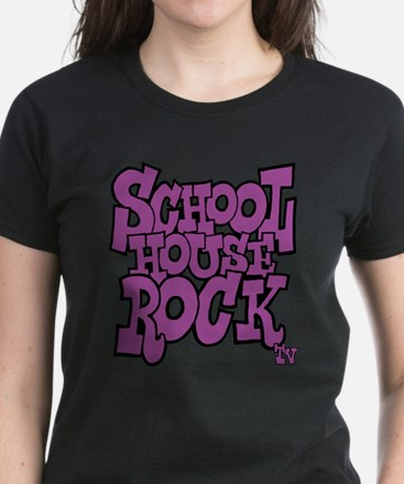 Schoolhouse Rock TV Women's Dark T-Shirt