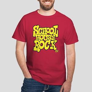 Schoolhouse Rock TV Dark T-Shirt