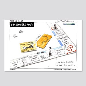 12/1/2008 - eDiscoveropoly Postcards (Package of 8