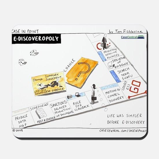 12/1/2008 - eDiscoveropoly Mousepad