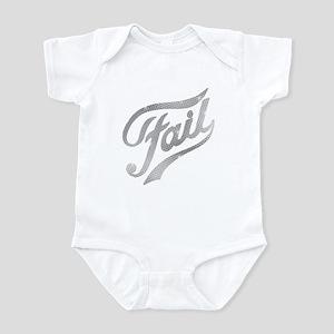 Fame - Fail silver Infant Bodysuit