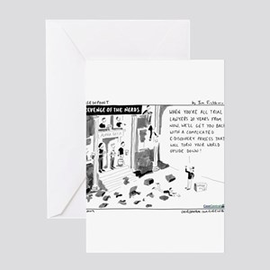5/18/2009 - Nerds! Greeting Card