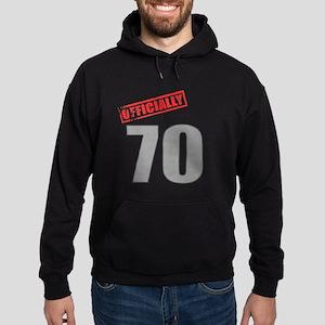 Officially 70 Hoodie (dark)