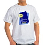 """Morning Meetings"" Ash Grey T-Shirt"