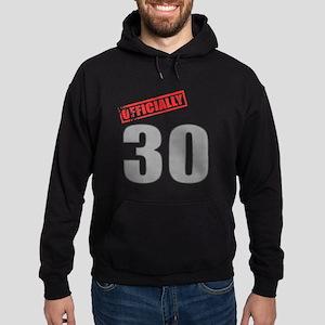 Officially 30 Hoodie (dark)