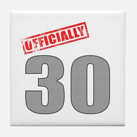 Officially 30 Tile Coaster