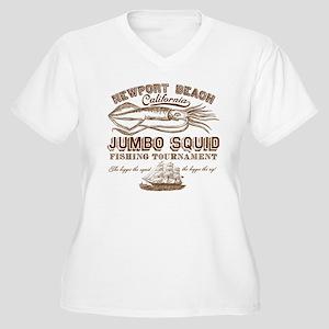 Jumbo Squid Women's Plus Size V-Neck T-Shirt