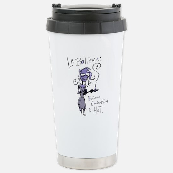 Boheme - Consumption Stainless Steel Travel Mug