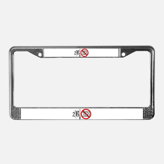 Shakespeare Hamlet License Plate Frame