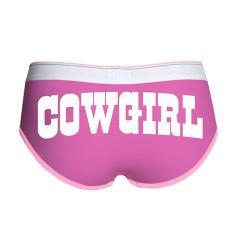 Cowgirl Women's Boy Brief