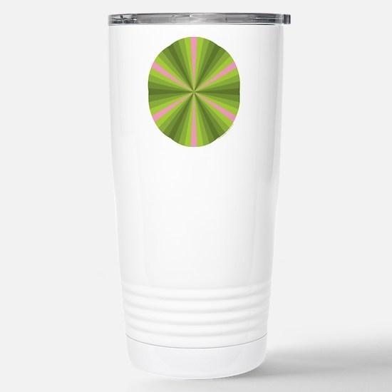 Spring Illusion Stainless Steel Travel Mug