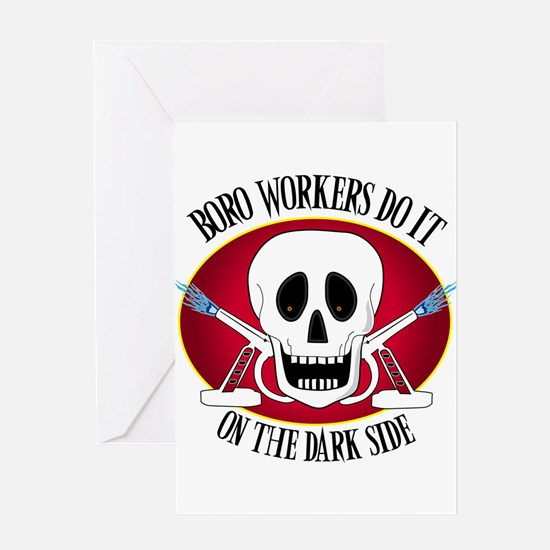 Boro Workers Do It...... Greeting Card