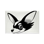 Chihuahua Rectangle Magnet (100 pack)