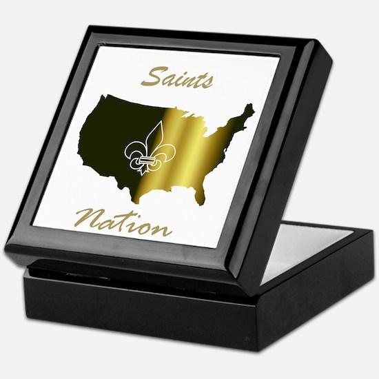 Saints Nation Keepsake Box