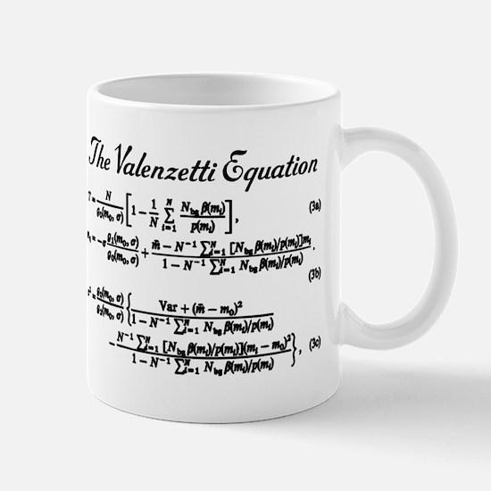 Valenzetti Equation Mug