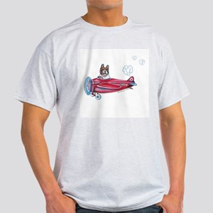 Valentine Airplane (Pied) Light T-Shirt