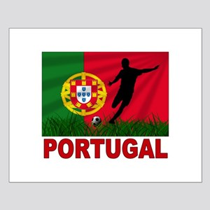 Portugal soccer Small Poster