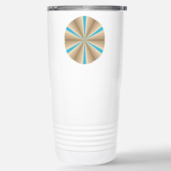 Summer Illusion Stainless Steel Travel Mug