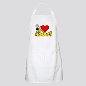 I Heart Nouns - Schoolhouse Rock! Apron