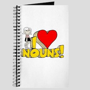 I Heart Nouns - Schoolhouse Rock! Journal