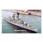 USS DEWEY Sticker (Rectangle)