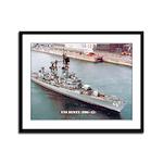 USS DEWEY Framed Panel Print