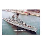 USS DEWEY Postcards (Package of 8)
